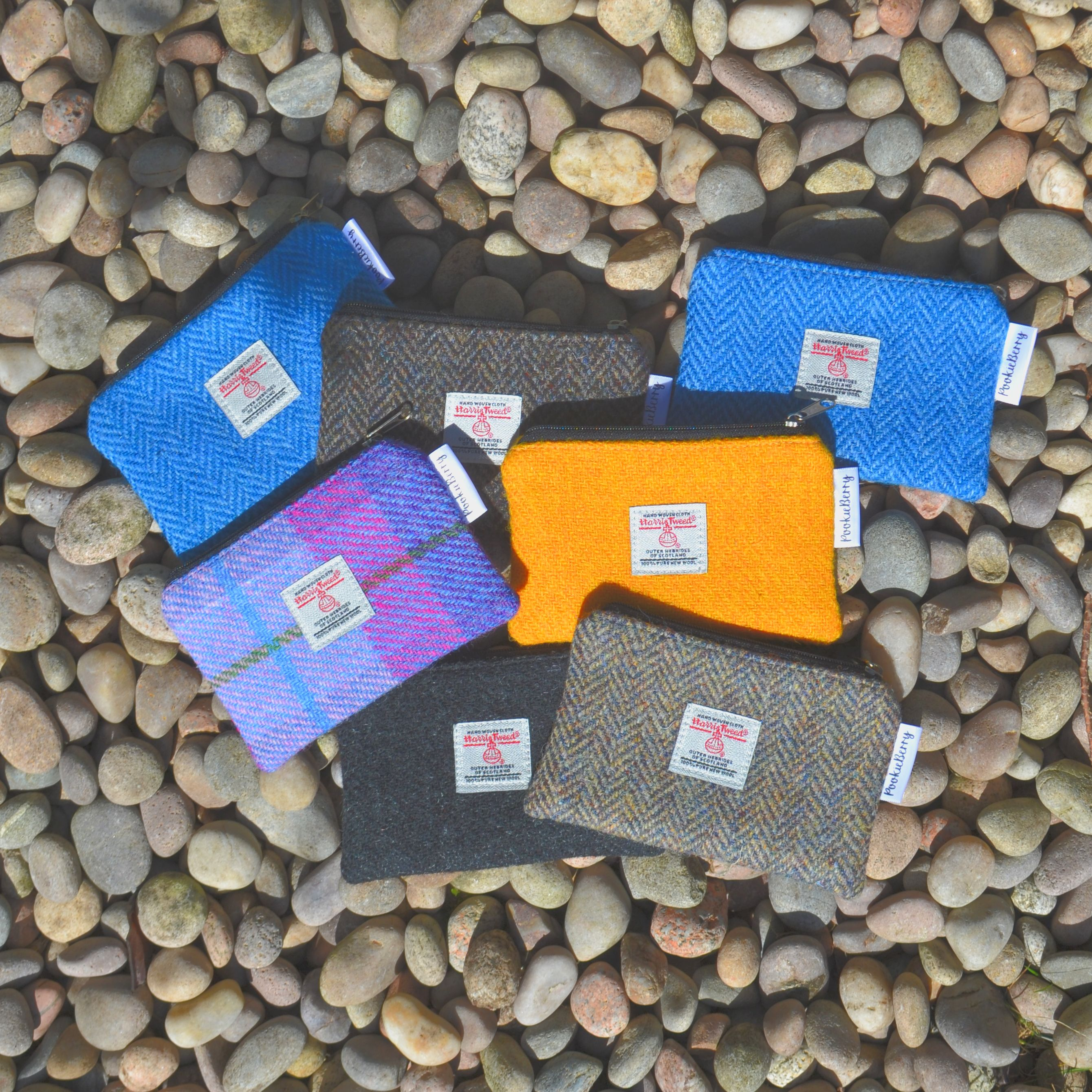 Harris Tweed Coin Purses